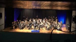Actuación da Banda de Música de Alumnos de profesional - Quinta Parte