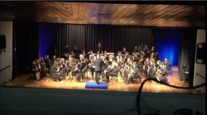 Actuación da Banda de Música de Alumnos de profesional - Segunda Parte