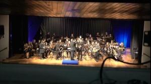 Actuación da Banda de Música de Alumnos de profesional - Terceira Parte