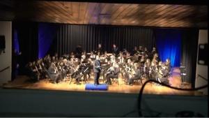 Actuación da Banda de Música de Alumnos de profesional - Cuarta Parte