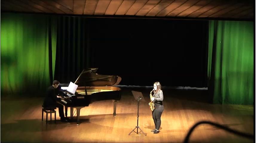 Cámara de Piano e Saxo